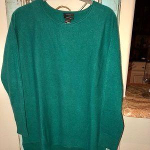 NWT - Halogen cashmere blend sweater